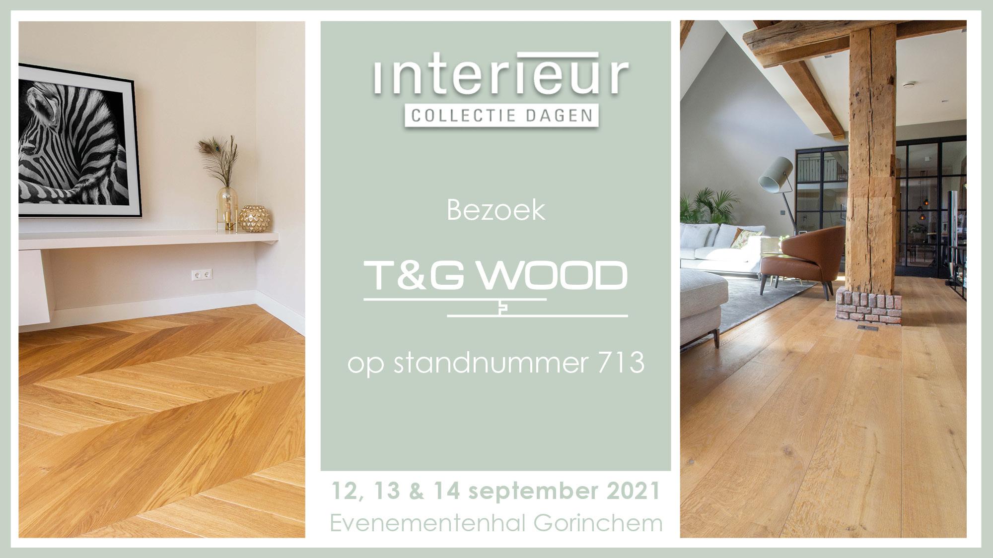 T&G Wood op de Interieur Collectie Dagen 2021